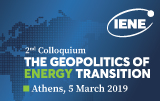 2nd IENE Colloquium on The Geopolitics of Energy Transition
