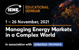 "IENE Seminar ""Managing Energy Markets in a Complex World"""