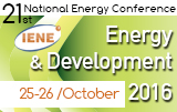 "21st National Conference ""Energy & Development 2016"""