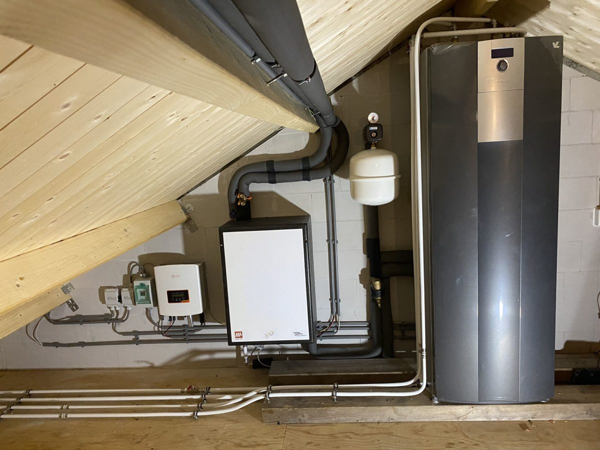 Photovoltaic-Thermal District Heating Networks Are Feasible