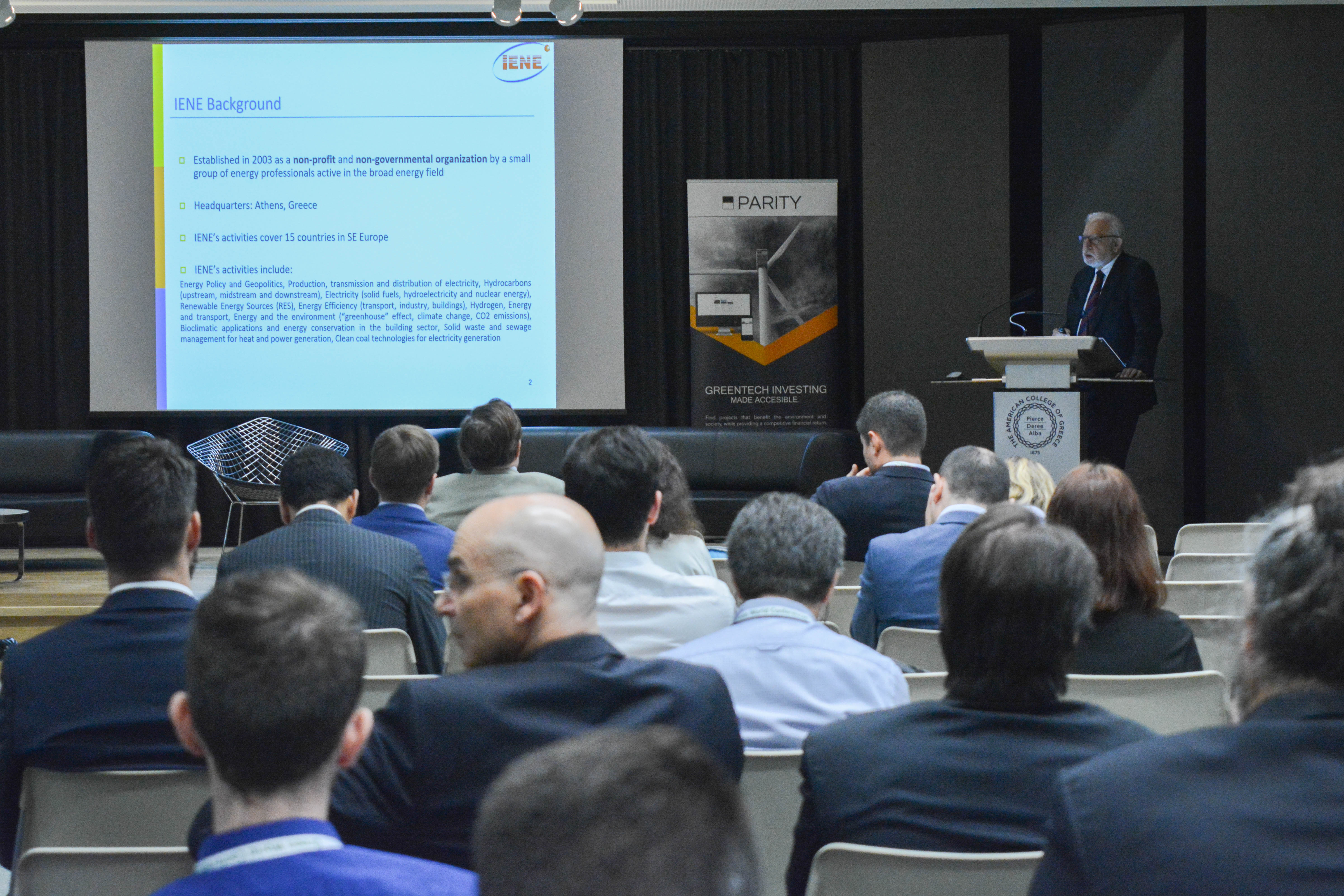 WIND Mission Greece - IENE Outlines its Role in RES development