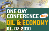 One Day Conference Oil & Economy