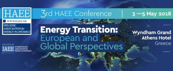 Participation of IENE in the 3rd HAEE Conference on European and Global Perspectives of Energy Transition