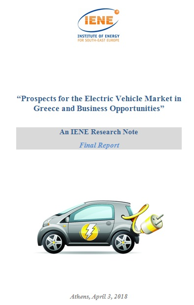 IENE completed major study on Electric Vehicle Market