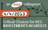 The Viability of RES Investments in Greece