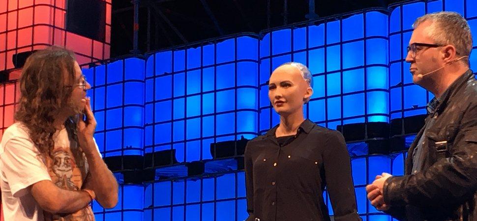 Meet Sofia, the Robot That Looks, Thinks, and Talks Like a Human