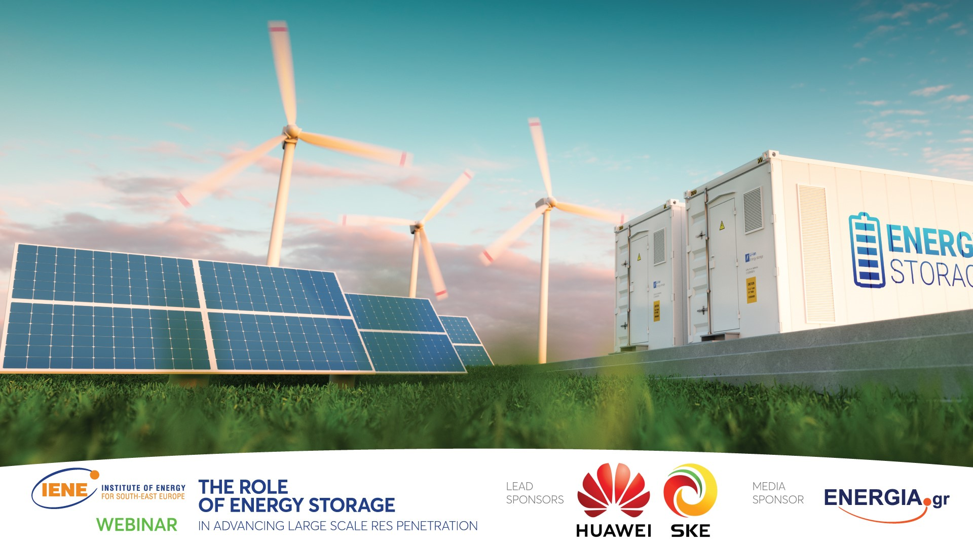 Energy Storage is key to Energy Transition, concludes IENE Workshop