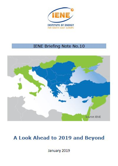 IENE Briefing Note No 10 - A Look Ahead to 2019 and Beyond