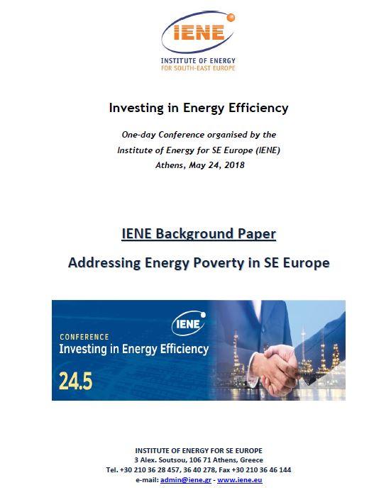 Addressing Energy Povertty in SE Europe
