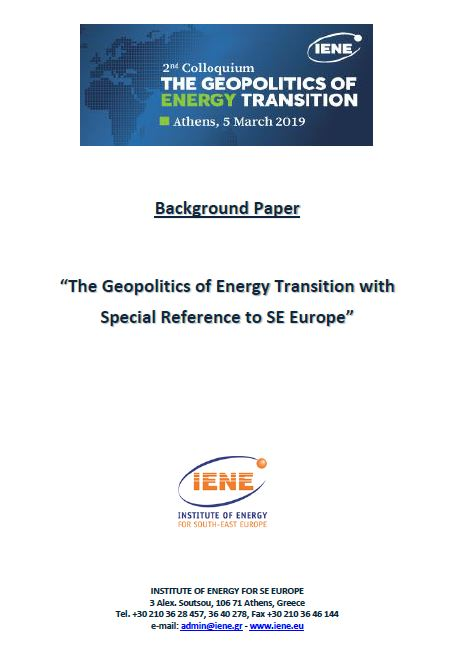 The Geopolitics of Energy Transition with Special Reference to SE Europe