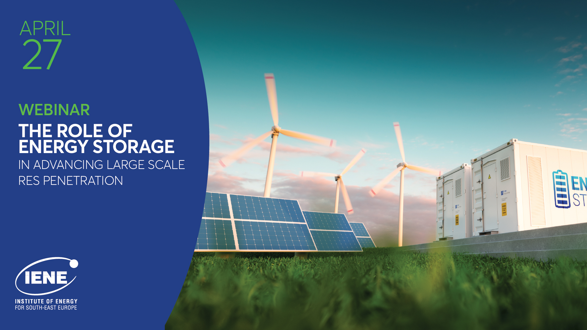 Energy Storage Workshop attracts top speakers and backing from industry