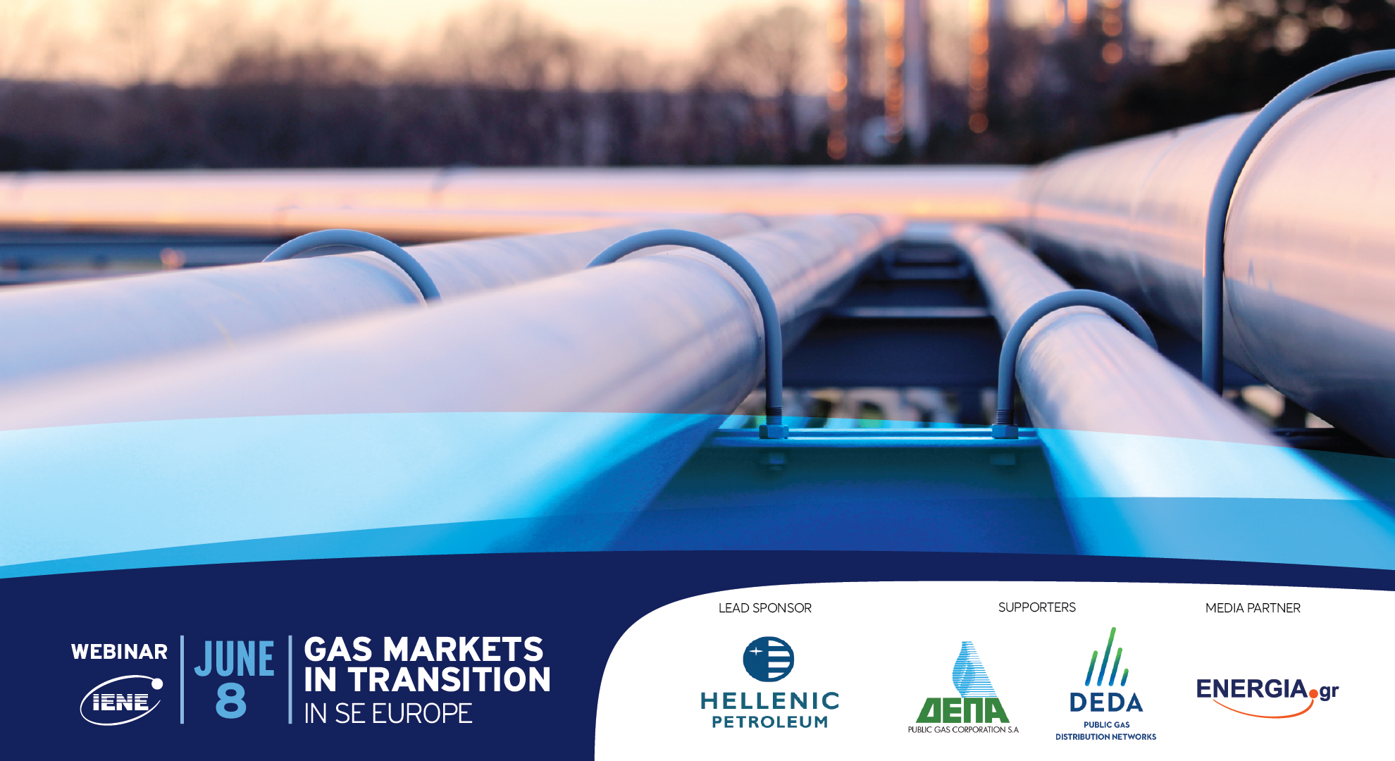 The challenges of the Natural Gas market in SΕ Europe were hotly debated at IENE's latest webinar
