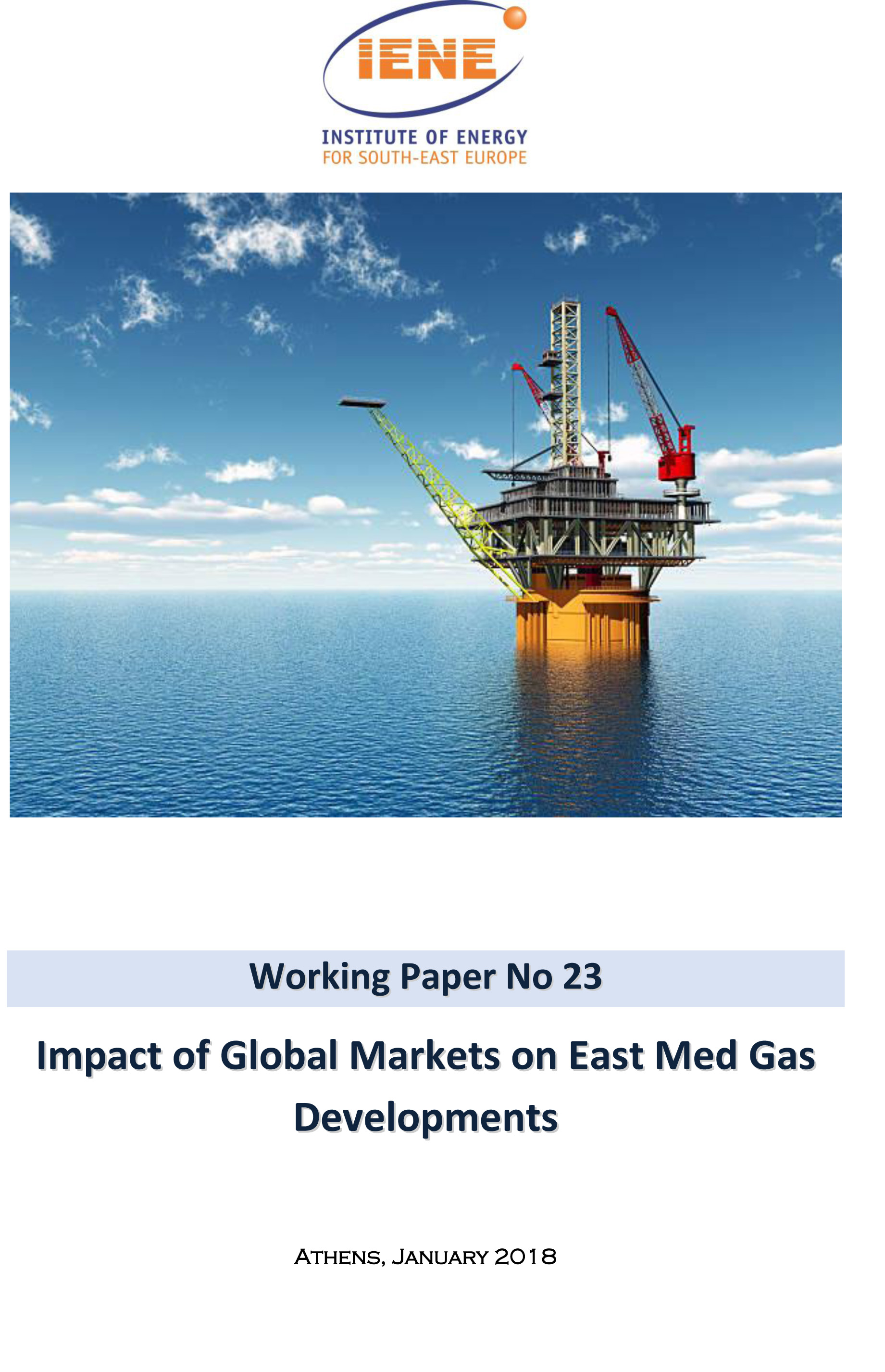 WP 23 -Impact of Global Markets on East Med Gas Developments
