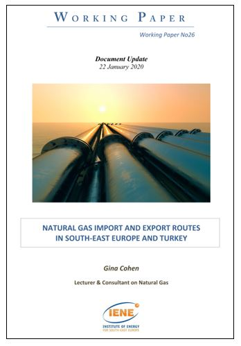 WP 26 - Natural Gas Import and Export Routes in South-East Europe and Turkey