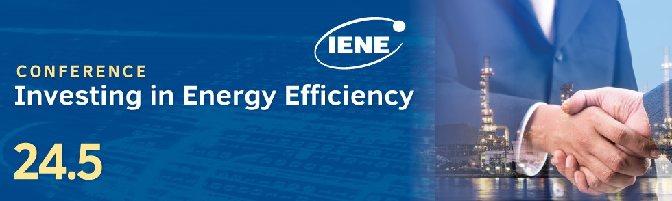 IENE to Organize «Investing in Energy Efficiency» Conference in Athens