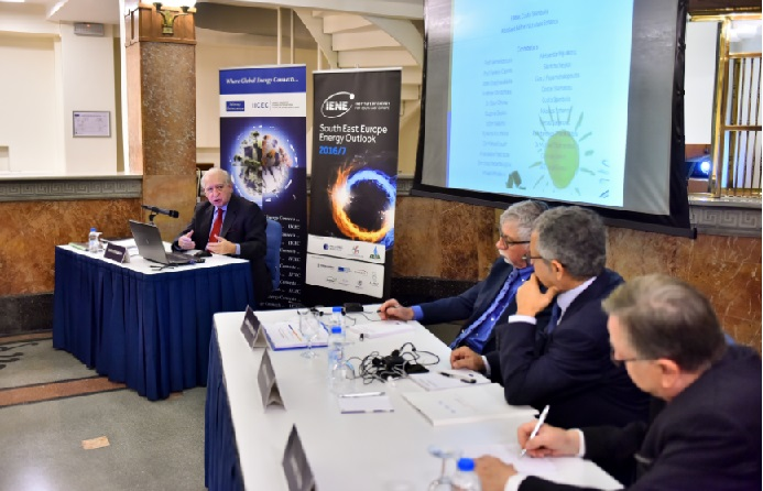 The Energy Security Issues Confronting SE Europe Were Highlighted by IENE's Executive Director at IICEC-Sabanci University Εvent in Istanbul