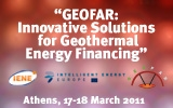 GEOFAR Innovative Solutions for Geothermal Energy Financing