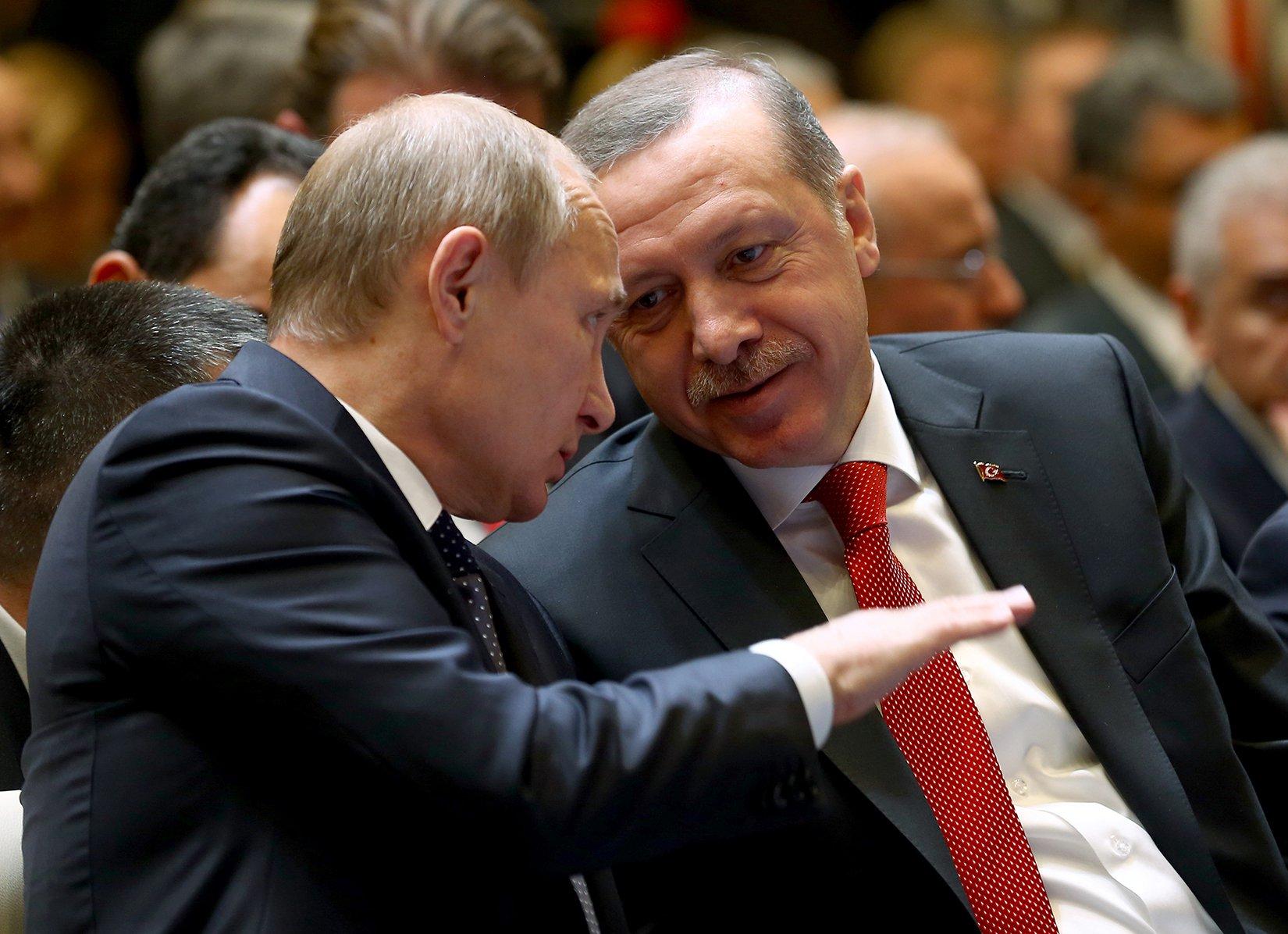 Moving Closer Together, Putin, Erdogan Push Turkish Stream