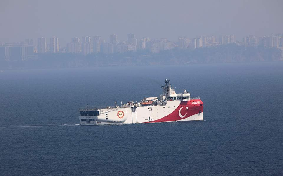 Why is the Oruc Reis Back Out at Sea?