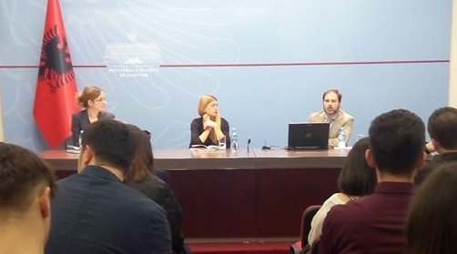 ΙΕΝΕ Participated in a Special Event Organized by the Albanian Centre of Excellence in Tirana