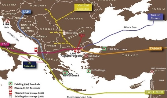 IENE to Discuss the Prospects for an Expanded South Corridor in a Special Event in Athens