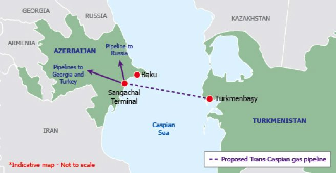 Is the Trans-Caspian Gas Pipeline Really Important for Europe?
