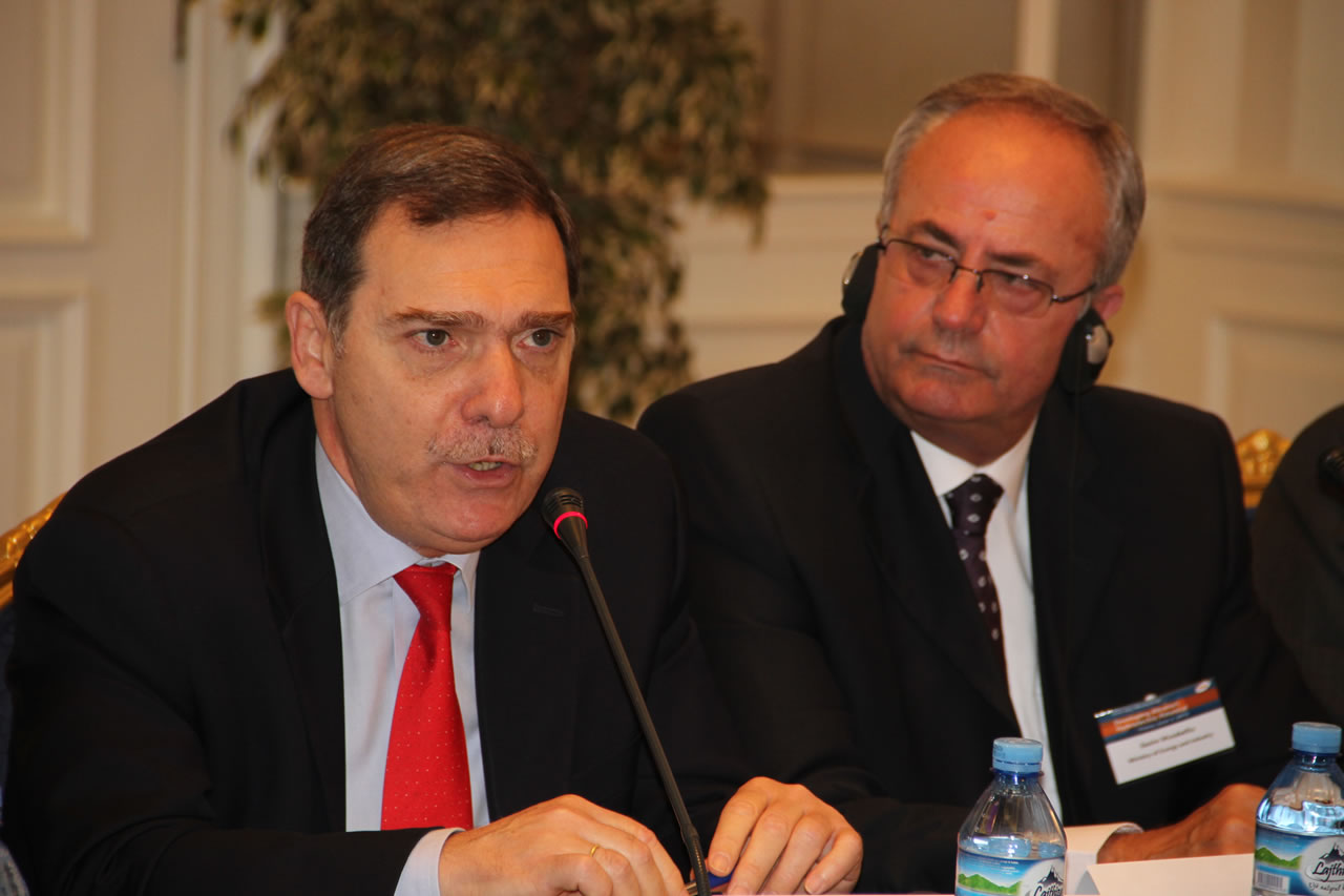 H.E. Mr. Leonidas Rokanas, Ambassador of Greece to Albania