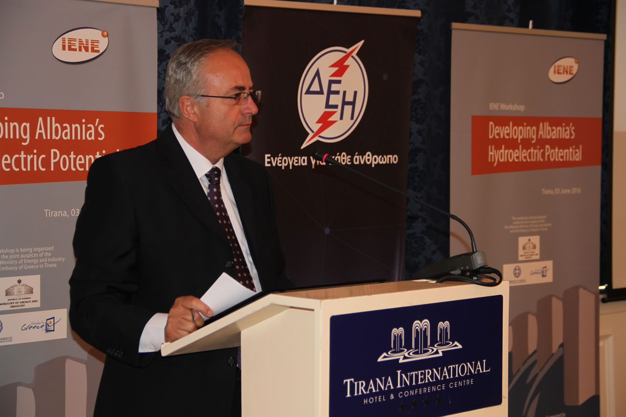 Mr. Gezim Musabelliu, Deputy Minister, Ministry of Energy and Industry, Albania
