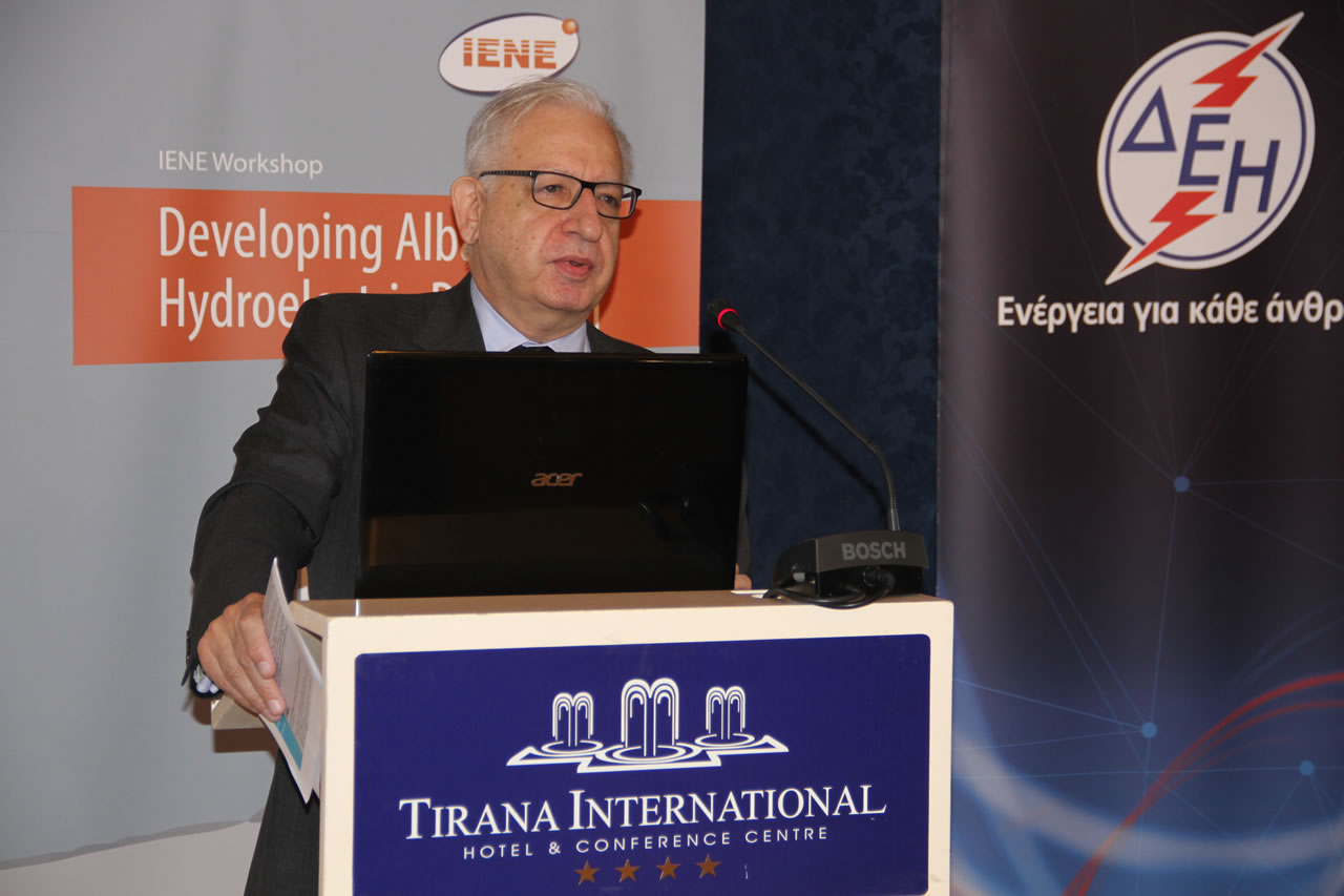 Mr. Costis Stambolis, Executive Director, IENE
