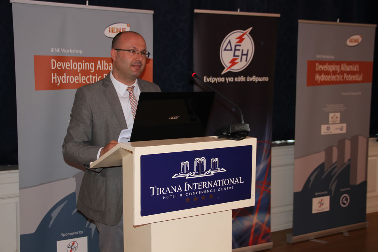 Mr. Lorenz Kosta, Project Manager, Electricity Transmission Operator of Albania (OST)