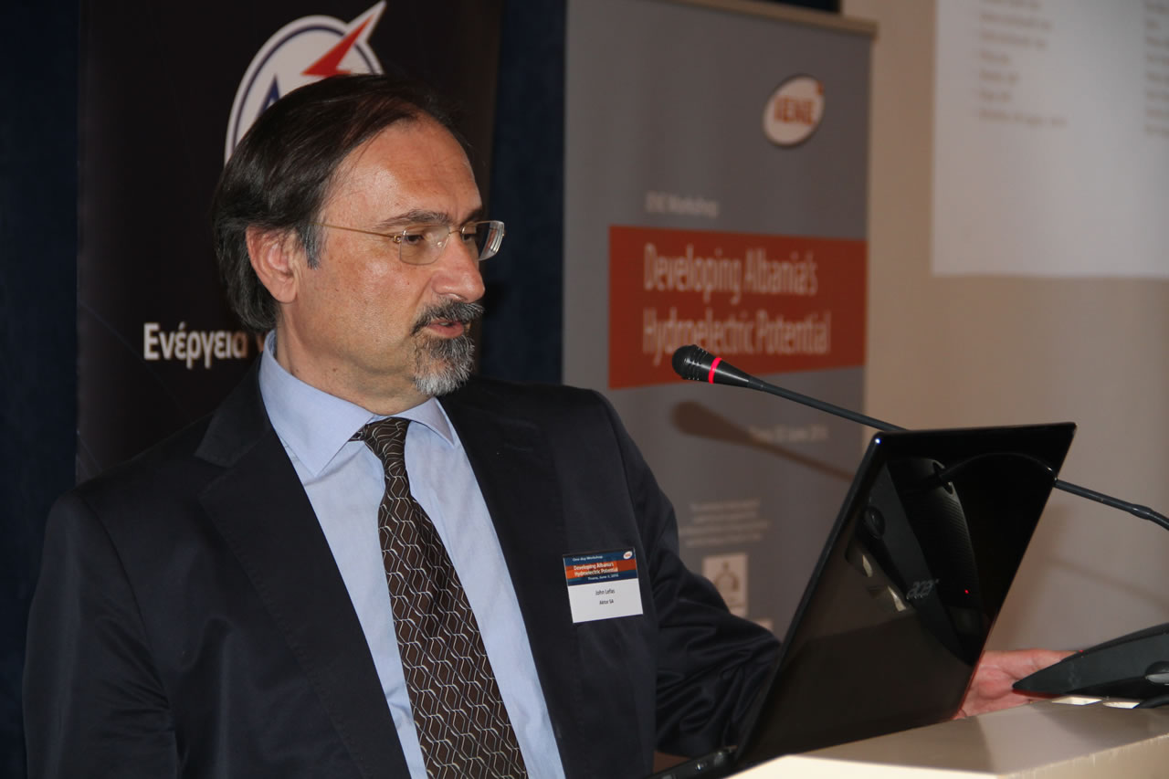 Mr. Ioannis Lefas, Chief Technical Officer, Infrastructure Projects, Aktor SA, Greece