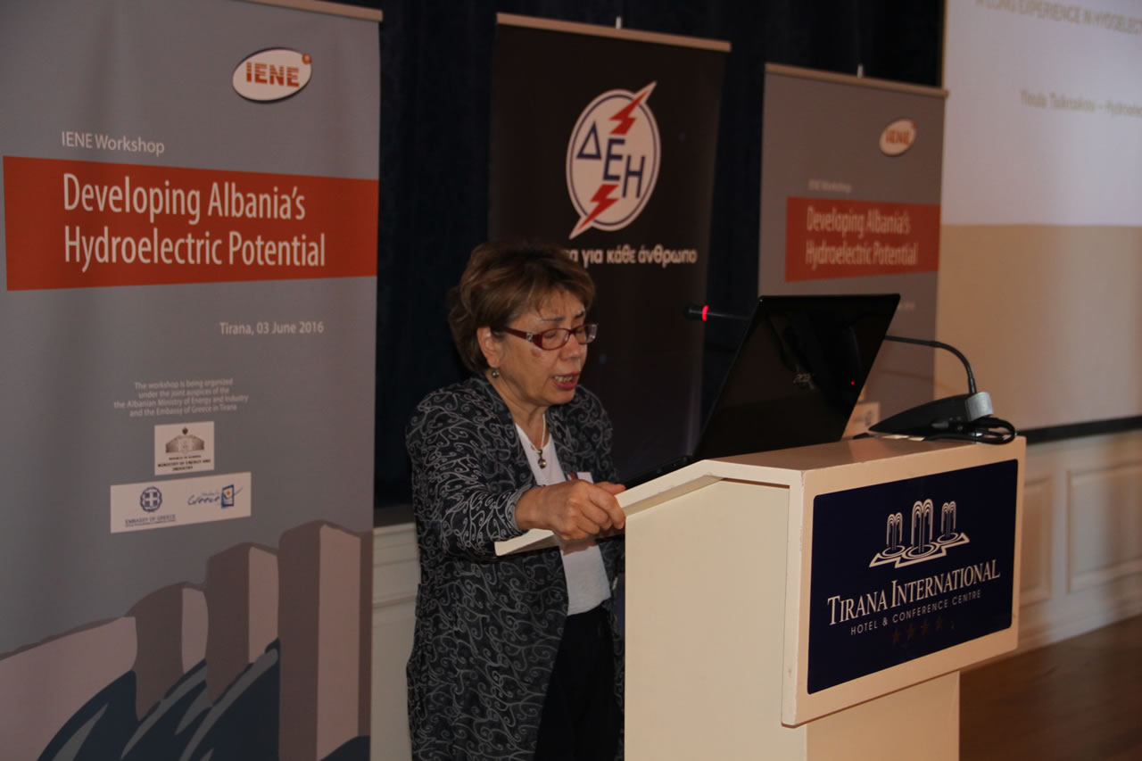 Mrs. Yioula Tsiknakou, Hydroelectric Projects Director, Terna Energy SA, Greece