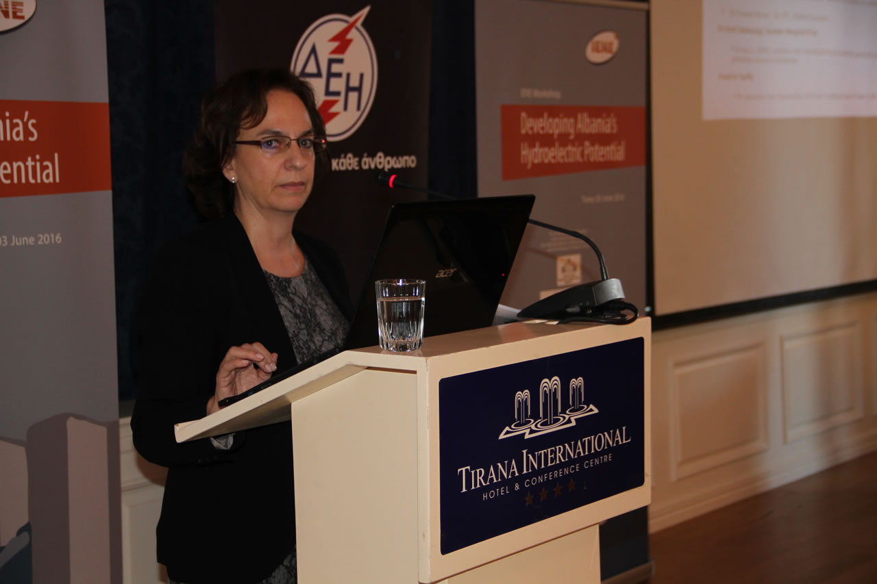 Mrs. Alexandra Psyrri, Assistant Director, Energy Management Dpt., Public Power Corporation (PPC), Greece