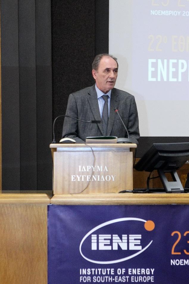 Ομιλία Υπουργού Περιβάλλοντος & Ενέργειας κ. Γιώργου Σταθάκη